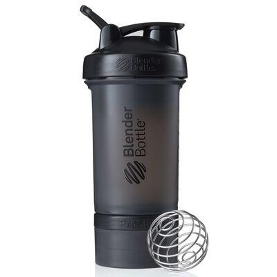 BlenderBottle Shakerflaska ProStak med 2 behållare 650 ml svart