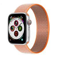 Apple Watch 5 (40mm) Nylon Armband - Spicy Orange
