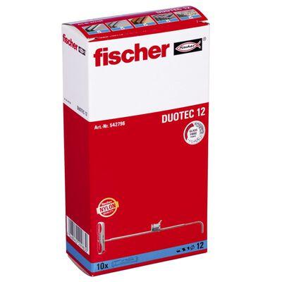 Fischer Nylonvikplugg DUOTEC 12 10 st