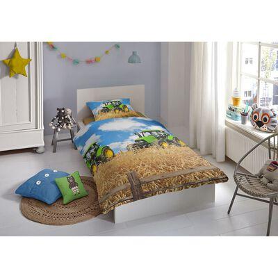 Good Morning Bäddset 5604-A FARMER 135x200 cm flerfärgat