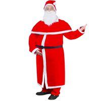 Tomtedräkt med mantel julkostym set