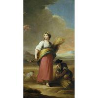 Allegory of Summer,Maella Mariano Salvador,80x40cm