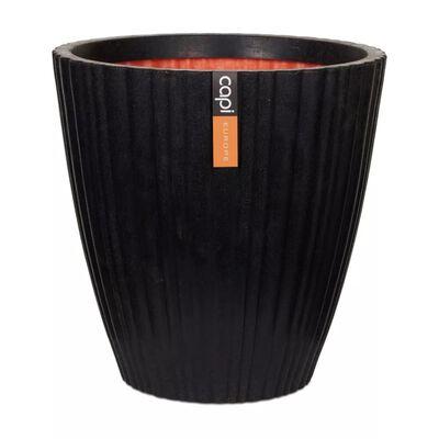 Capi Vas Urban Tube avsmalnande 55x52 cm svart KBLT802