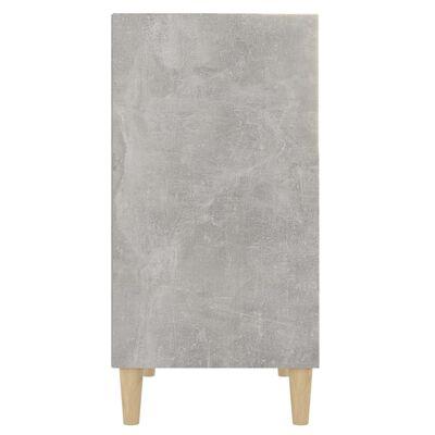 vidaXL Skänk betonggrå 57x35x70 cm spånskiva