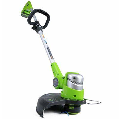 Greenworks Trimmer utan 24 V-batteri Deluxe G24LT30M 2100007,