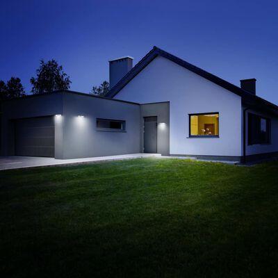 Steinel Trädgårdslampa med sensor XSolar SOL-O S silver 052652