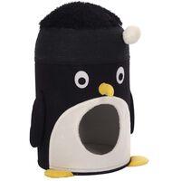 Kerbl Kattgrotta Pingu 50cm svart och vit