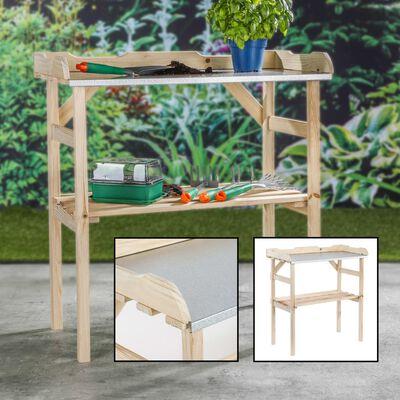 HI Planteringsbord trä 82x38x78 cm