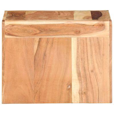 vidaXL Sidobord 43x40x30 cm massivt akaciaträ