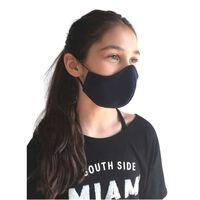 Blått tvättbart tyg munskydd för barn och vuxna-M,Blå