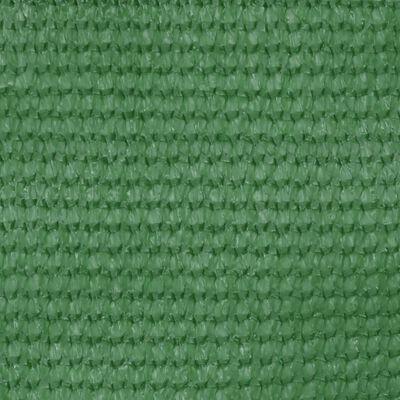 vidaXL Balkongskärm ljusgrön 75x600 cm HDPE