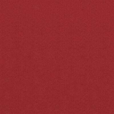 vidaXL Balkongskärm röd 75x600 cm oxfordtyg