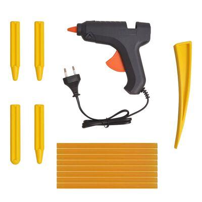 vidaXL 50-delars Repareringskit för bucklor rostfritt Stål