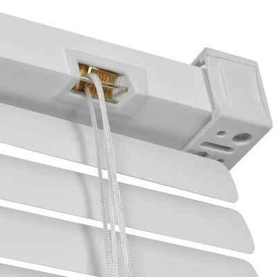 vidaXL Persienner aluminium 100x130 cm vit