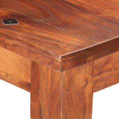 vidaXL Matbord 160x80x76 cm massivt akaciaträ