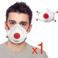 1x CE FFP3 Munskydd Skydd Mun / Mask Skyddsmask hälsa