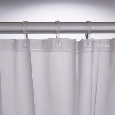 Sealskin Duschdraperi Sayings 180x200 cm vit och svart