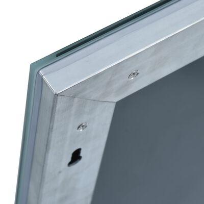 vidaXL Badrumsspegel LED 100x60 cm