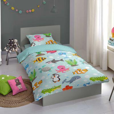Good Morning Bäddset för barn Seaworld 140x200/220 cm