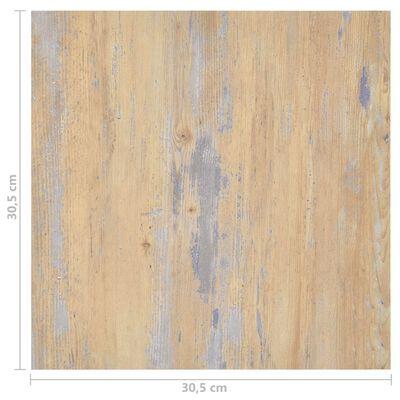 vidaXL Självhäftande golvplankor 55 st PVC 5,11 m² brun