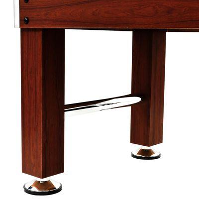 vidaXL Fotbollsbord stål 60 kg 140x74,5x87,5 cm brun