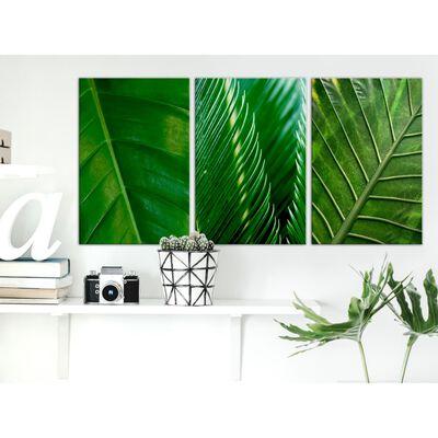 Tavla - Leaves (collection) - 60x30 Cm