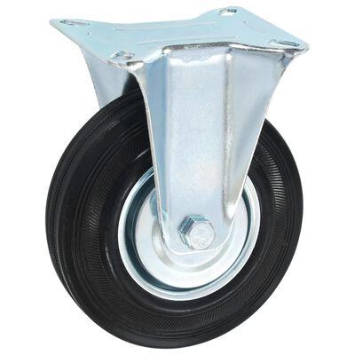 vidaXL Fasta hjul 12 st 125 mm