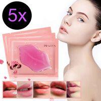 10 pack naturligt fylligare läppar Pilaten Läpp mask Collagen