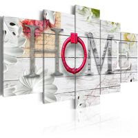 Tavla - Dreamy Home - 100x50 Cm