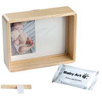 Baby Art Ram för foto och avtryck trä naturlig