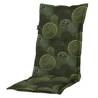 Madison Stolsdyna med hög rygg Circle 123x50 cm grön