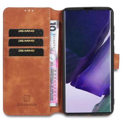 Dg-ming Mobilplånbok 3-kort Samsung Galaxy Note 20 Ultra-svart