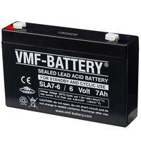 VMF AGM Batteri Standby och cyklisk 6 V 7 Ah SLA7-6