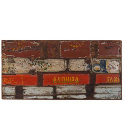 vidaXL Barmöbler 5 delar massivt återvunnet trä flerfärgad