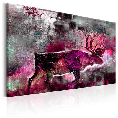 Tavla - Ruby Caribou - 60x40 Cm