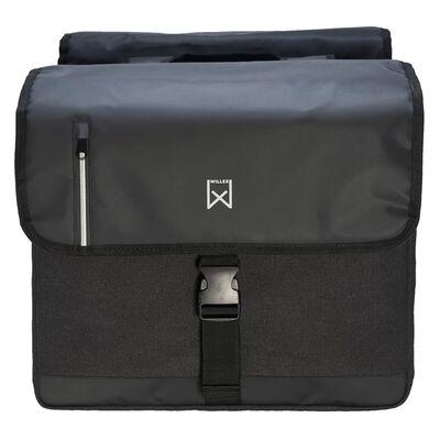 Willex Dubbel affärsväska 46 L svart