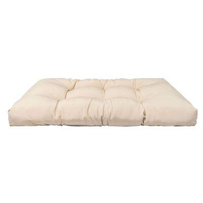 vidaXL Dynor till pallsoffa 3 st beige polyester