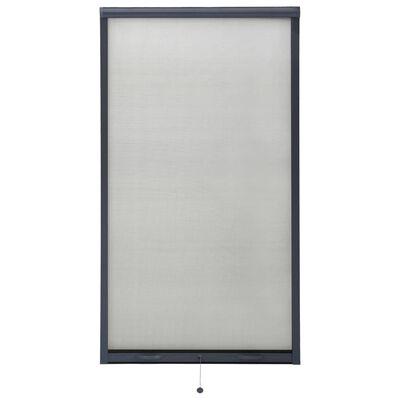 vidaXL Insektsnät för fönster antracit 90x170 cm