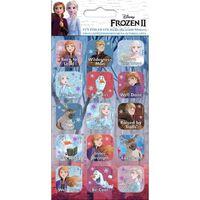 Frozen 2 / Frost 2, 15x Klistermärken