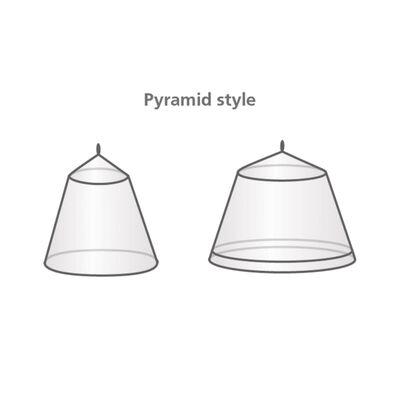 Travelsafe Myggnät för 2 personer pyramid