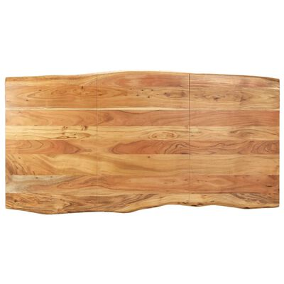 vidaXL Matbord 180x90x76 cm massivt akaciaträ