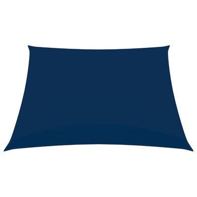 vidaXL Solsegel oxfordtyg fyrkantigt 2,5x2,5 m blå