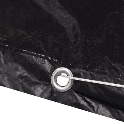 vidaXL Överdrag till vattentank 2 st 8 öljetter 116x100x120 cm