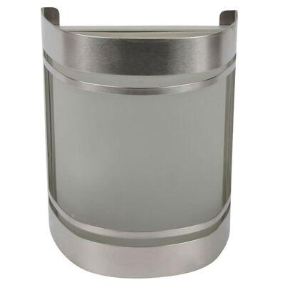 Smartwares Vägglampa för utomhusbruk 14x16,5x10,5 cm silver