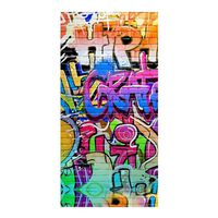 Good Morning Badlakan GRAFFITY 75x150 cm flerfärgat
