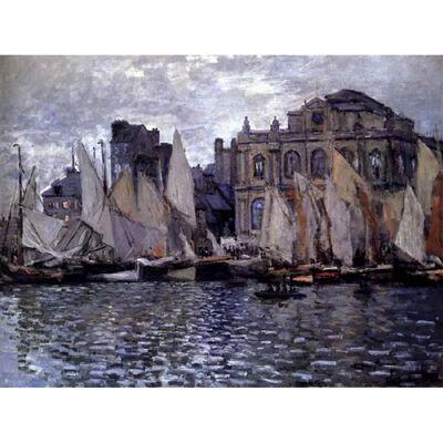 The Museum at Le Havre,Claude Monet,50x40cm