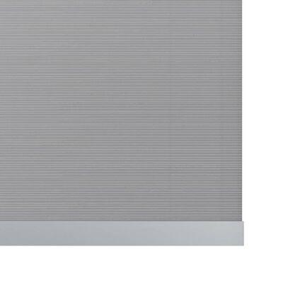 Decosol Rullgardin Deluxe translucent vit med ränder 120x190 cm