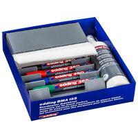 edding Whiteboardpennor med tillbehör 27 delar BMA 15S