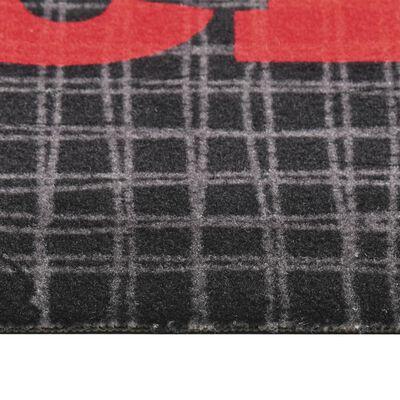 vidaXL Köksmatta maskintvättbar Hot&Spicy 45x150 cm,