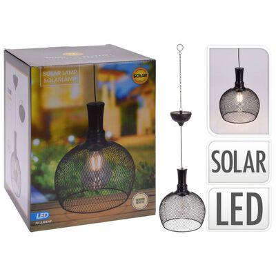 ProGarden Soldriven pendellampa LED metall 18,5 cm